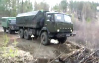 Incredible Feat by Russian Vehicle