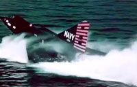 Only Seaplane to Break Sound Barrier