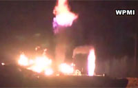 Fuel Barges Explode in Mobile