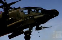 AH-64 Apache Helicopter Promo