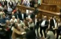 Venezuelan MPs Resort to Brawling