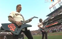Metallica Performs National Anthem!