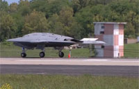 X-47B Shore-Based Arrested Landing