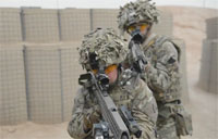British Army CQB Training