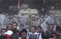 Egyptian Army Clashes with Protesters