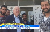 McCain Makes Secret Trip to Syria
