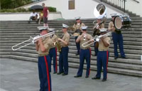 Marine Band Jazzes up French Quarter