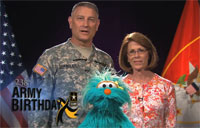 238th Army Birthday Greeting to Kids