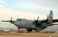 C-130 Flareout During Afghan Takeoff