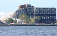 Coast Guard Building Demolished!