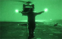 Black Hawk Flight Deck Ops