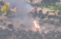 Rebels Fire Concourse Missiles on SAA