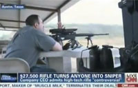 High Tech Rifle Turns Novice into Pro