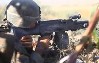 Marines Engage Armed Taliban Fighter