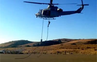 How Marines Do Helicopter Repelling