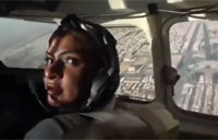 Saudi Prince Gets 1st Female Pilot
