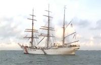 Awesome CG Ship Sails in Florida