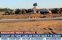 F-16 Crashes Near Luke AFB