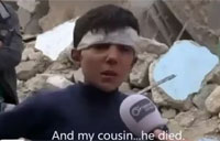 Syrian Boy SCUD Survivor Interview