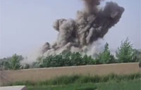Air Strike Devastates Taliban Position