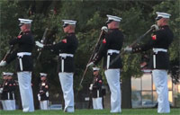 U.S. Marine Corps Sunset Parade