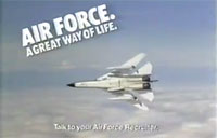 70's Air Force Ad Starring the FB-111A