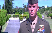 Marine Saves Drowning Teenager