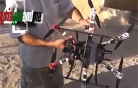 Syrian Army Hexacopter Captured