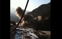 Big Air Strike on Taliban Position