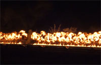 The Great Wall of Fire - Oshkosh 2013