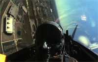 In the Cockpit with F-22A Raptor Team