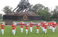 Marine Drum & Bugle Sunset Parade