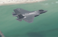 First Flight in Navy F35C Lightning II