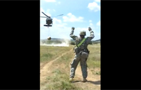 'Snake' Brings in Blackhawk Sling Load