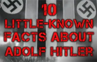 10 Facts You Didn't Know About Hitler