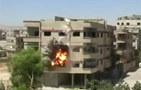 SAA Fires Rockets at Civilian Homes