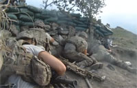 US Soldiers Pinned Down by PKM