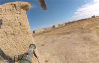 Afghanistan Firefight on GoPro Cam