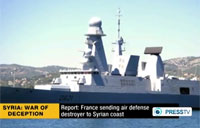 Russia Deploying Warship Near Syria