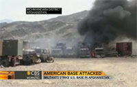 Taliban Take Credit for Base Attack