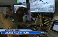 Military Tech Used to Fight Wildfires