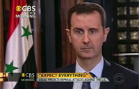 Assad Warns US of Retaliation