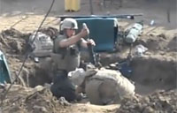 Mortar Team Hits Taliban Sniper