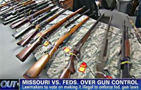 Missouri Targets Federal Gun Laws