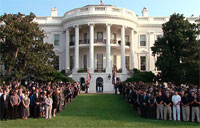 White House 9/11 Moment of Silence