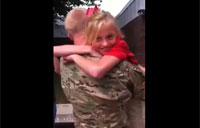 Big Bro Home from Afghanistan