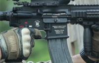 Marines Test New M27 Infantry Rifle