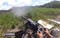 Firing the M2, MK19, and M240