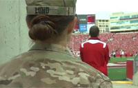 Army Captain Surprises Daughter!