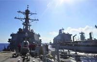 USS Barry (DDG 52) Conducts RAS